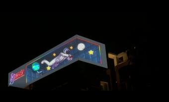 喬光科技裸眼3D-太空人篇