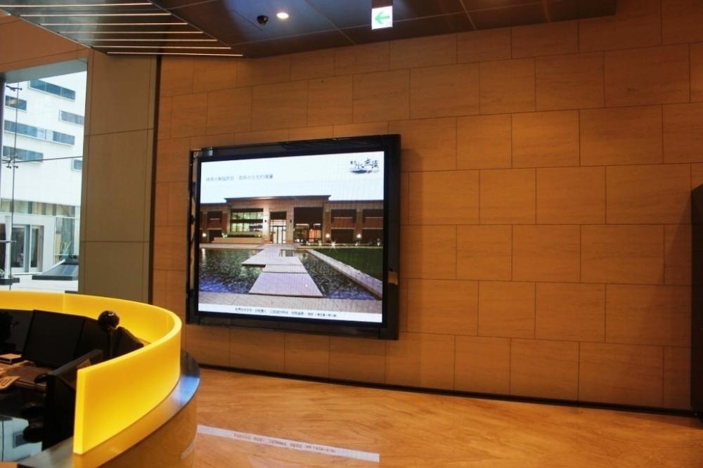 豐邑建設-1區P6室內LED全彩電視牆
