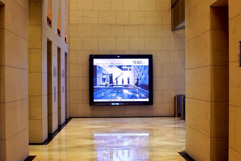 豐邑建設-2區P6室內LED全彩電視牆