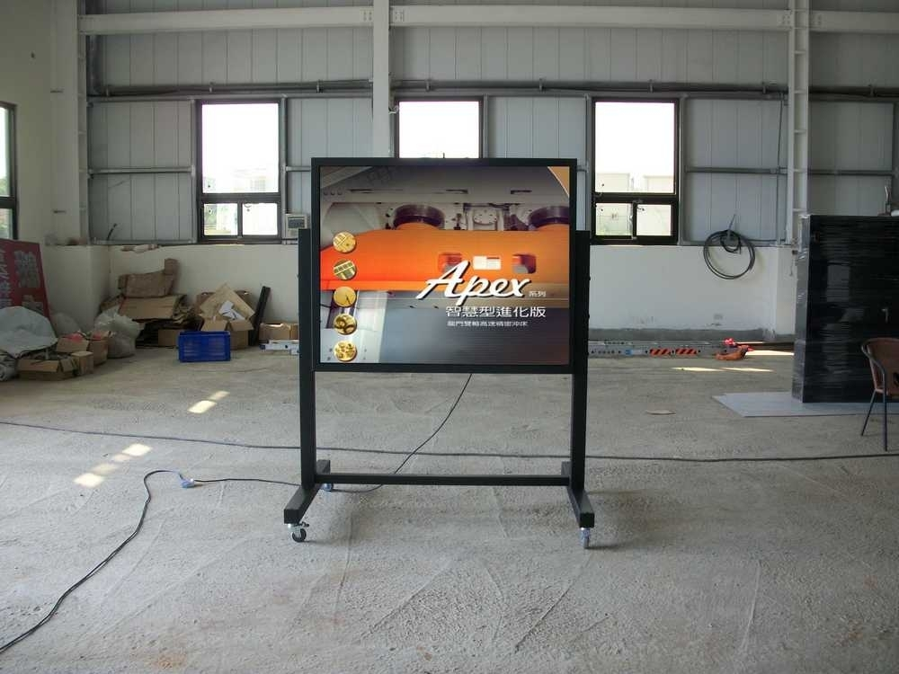 精密工業-P4移動式室內LED電子資訊看板