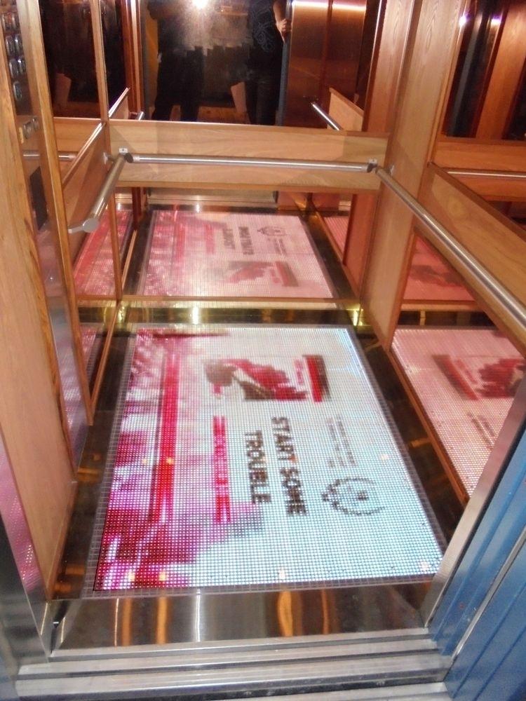 紅點文旅-P10室內LED地磚屏