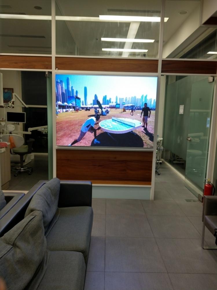 新美佳牙醫診所-P2.5室內LED電視牆
