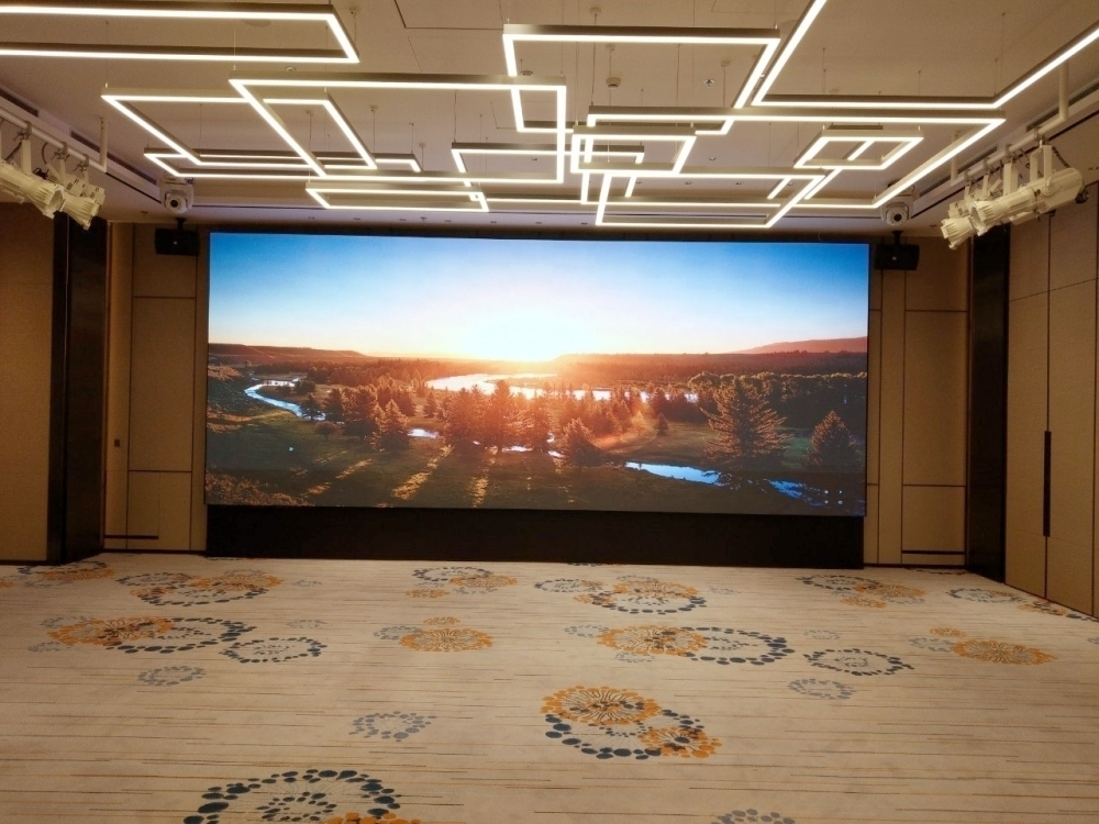 國泰萬怡酒店-P2.5室內LED電視牆