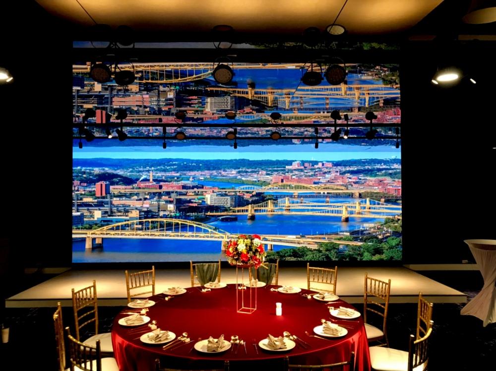 天圓地方儷軒館-P3室內LED電視牆