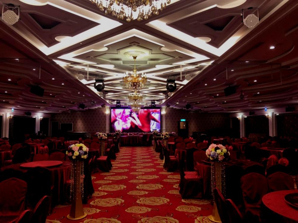 金華屋婚宴會館-P2.5室內LED電視牆