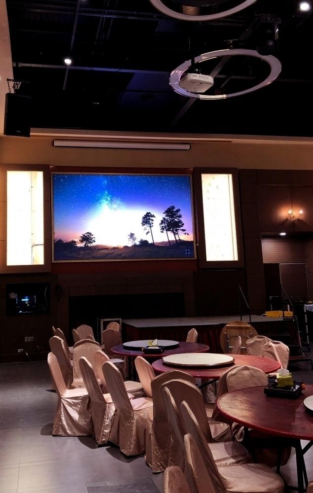 福宴樓B廳-P3室內全彩LED電視牆
