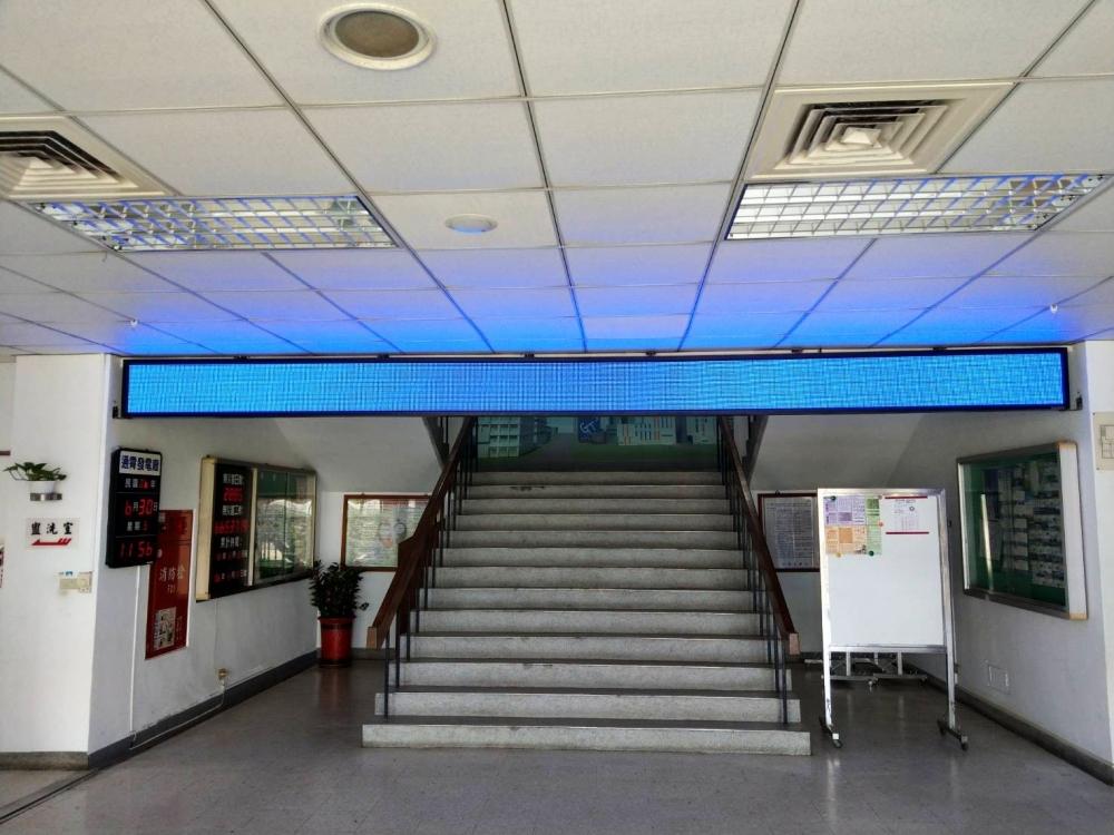 通宵火力發電廠-P10室內LED字幕機