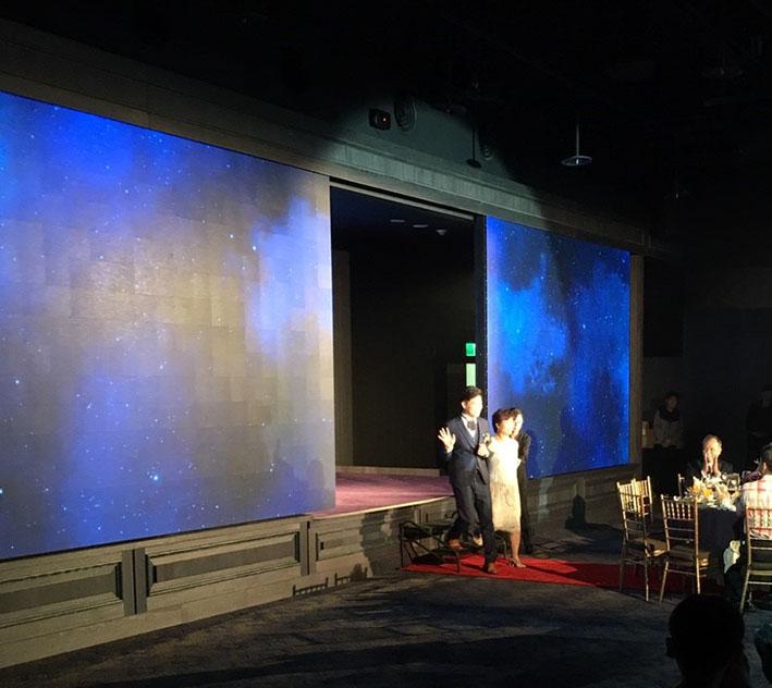 頤璽婚宴會館-P3 LED 活動對開門