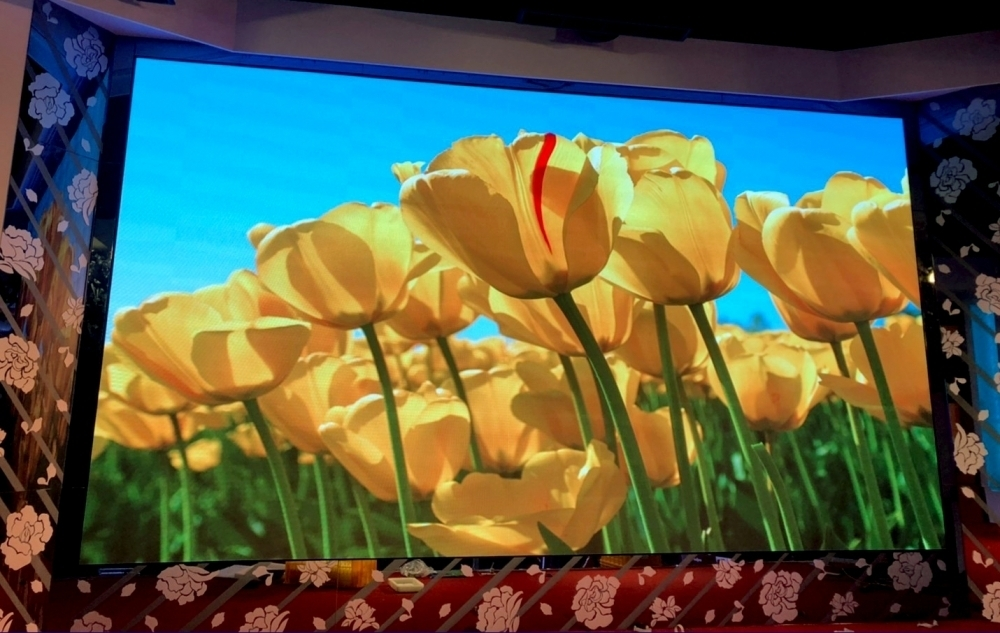 東達極品美饌-P2.5室內LED電視牆