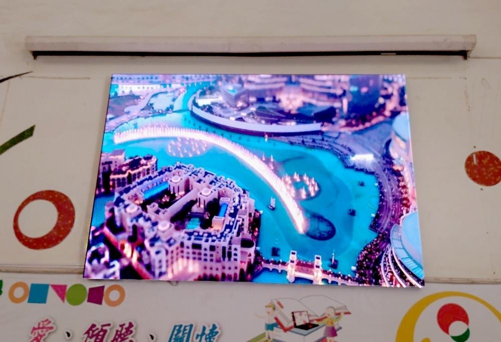 港坪國小-P3室內LED 電視牆-3