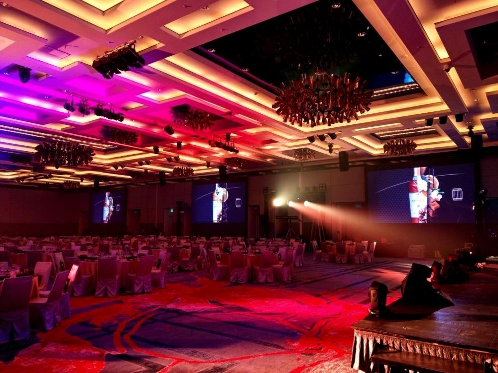 新竹喜來登飯店-P2.5室內LED電視牆-3