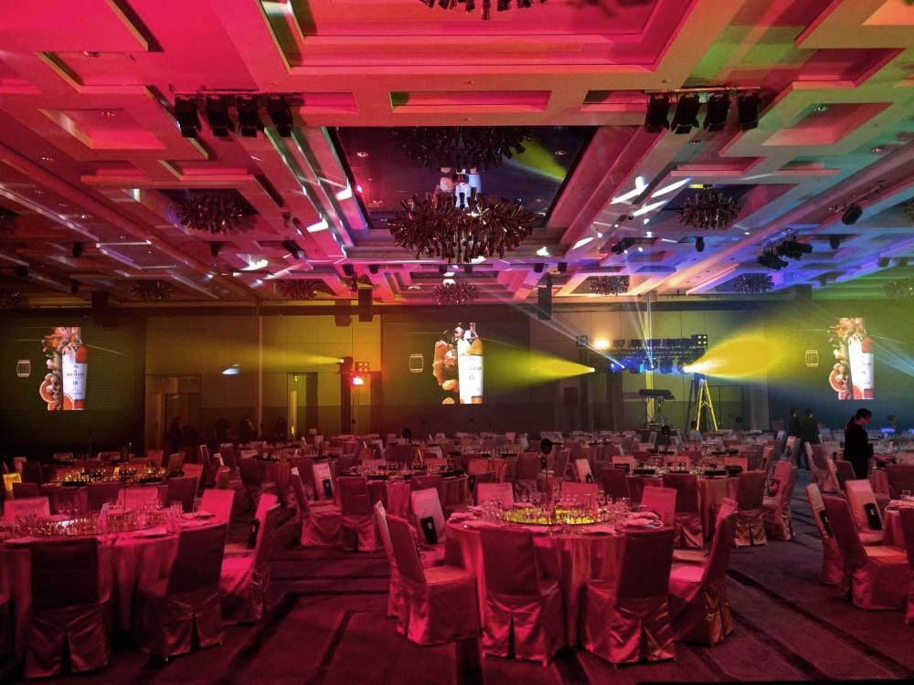 新竹喜來登飯店-P2.5室內LED電視牆-1