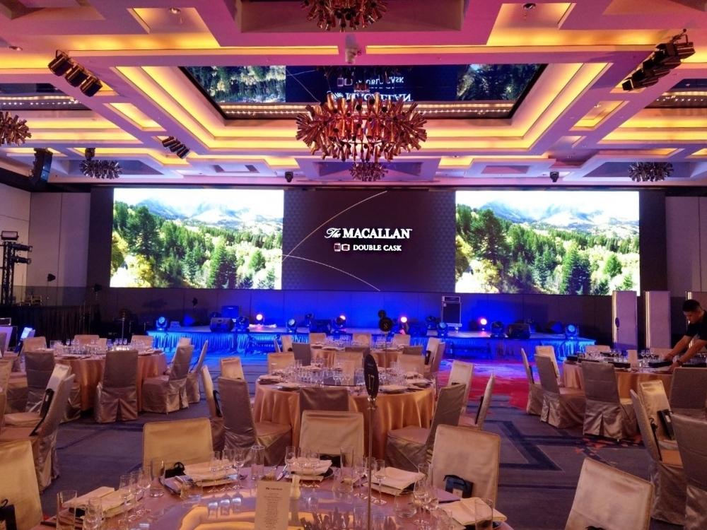 新竹喜來登飯店-P2.5室內LED電視牆-2