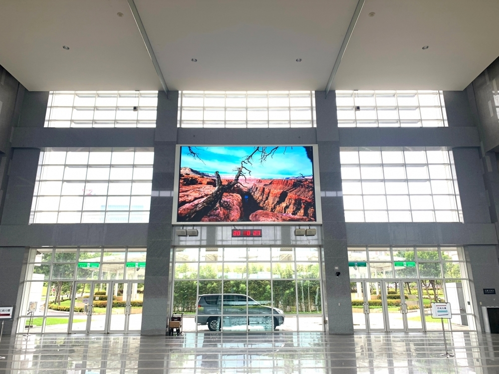 中科管理局-P3室內LED電視牆 租賃-2