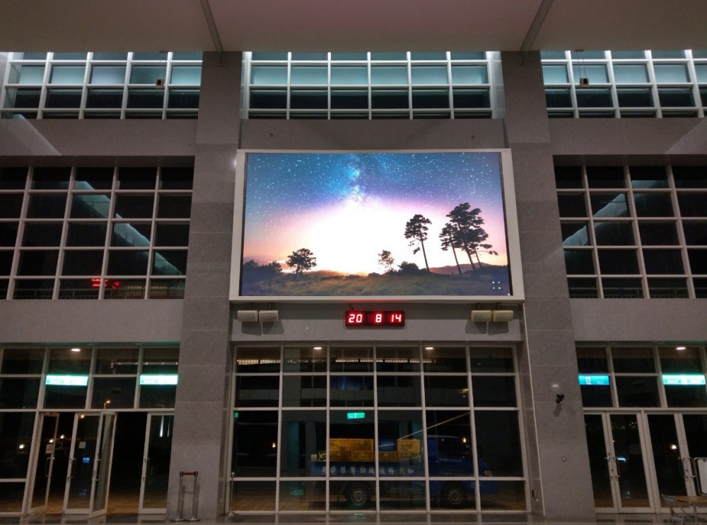 中科管理局-P3室內LED電視牆 租賃-1