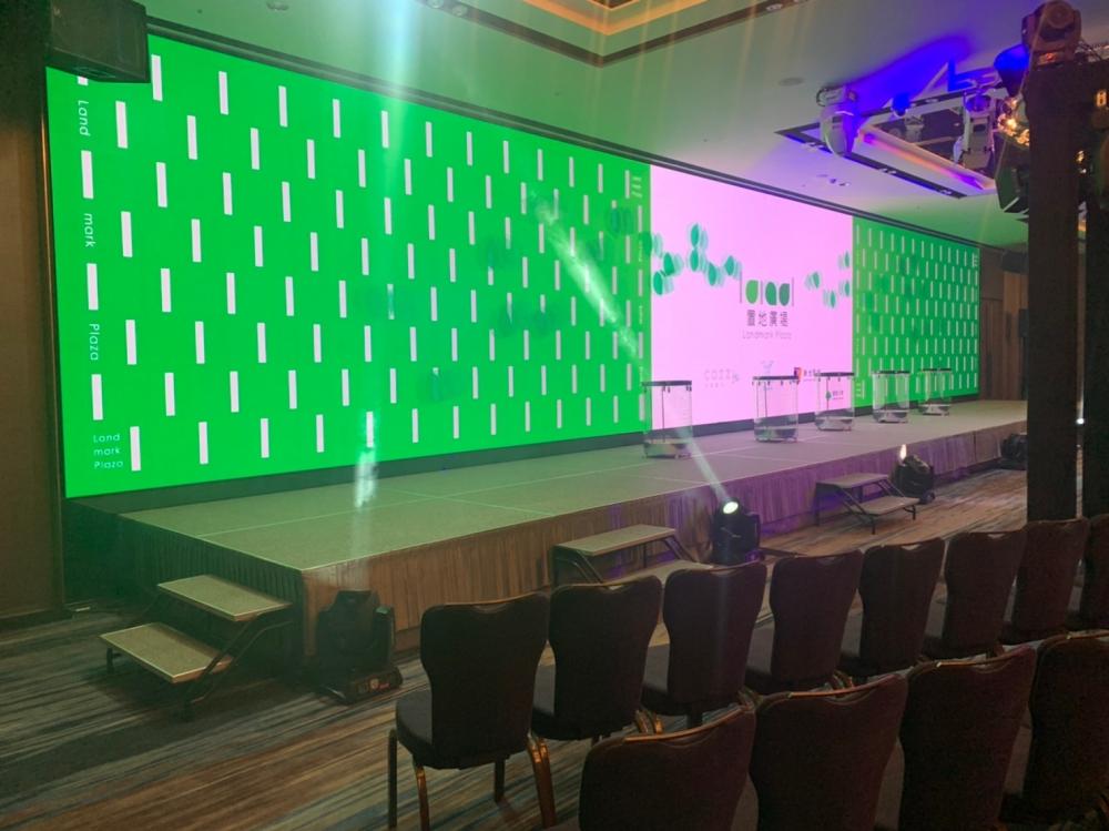 桃園COZZI國泰和逸飯店-P2.5室內LED電視牆-2
