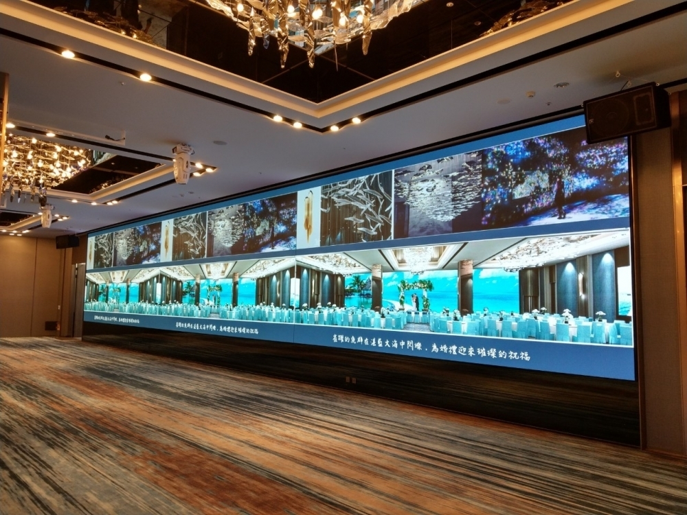桃園COZZI國泰和逸飯店-P2.5室內LED電視牆-1