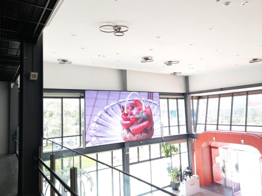 冷研探索館-室內P3全彩電視牆